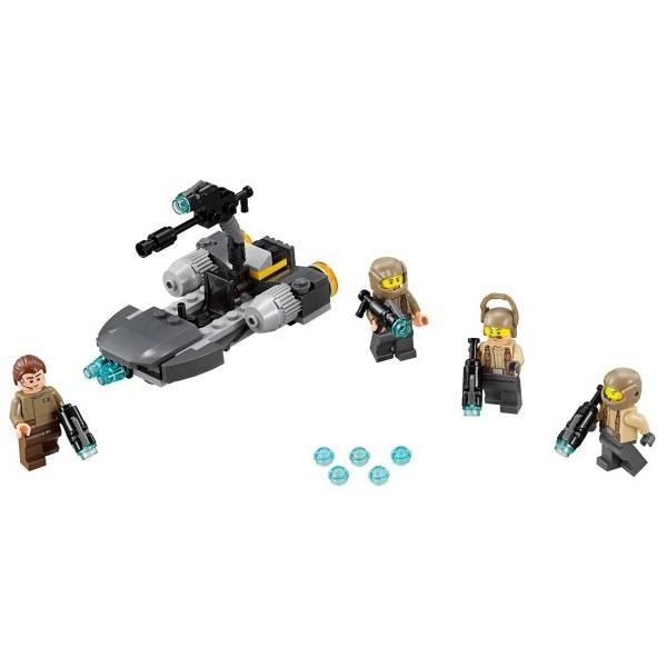 Конструктор LEGO Star Wars 75131 Боевой набор Сопротивления<br>