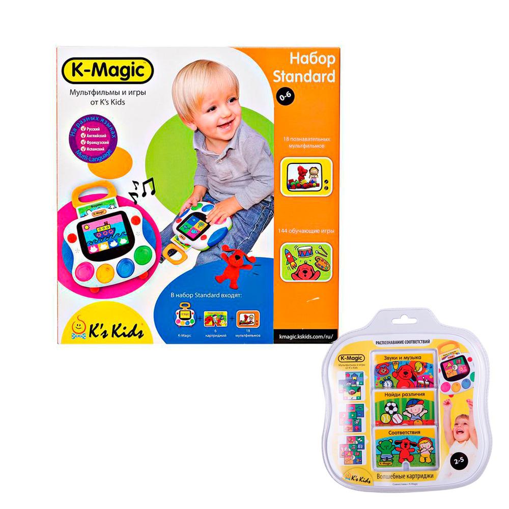 Развивающий игровой набор K&amp;#039;s Kids K-Magic Standard + Подарок KA562 Набор картриджей K-Magic Распознавание соответствий<br>