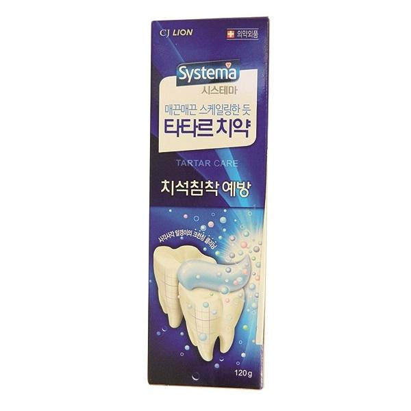Зубная паста CJ Lion Systema для предотвращения зубного камня 120 гр<br>