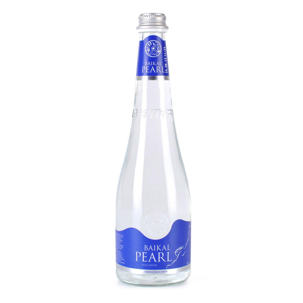 Вода питьевая Жемчужина Байкала Baikal Pearl Негазированная 0,53 л (стекло)<br>