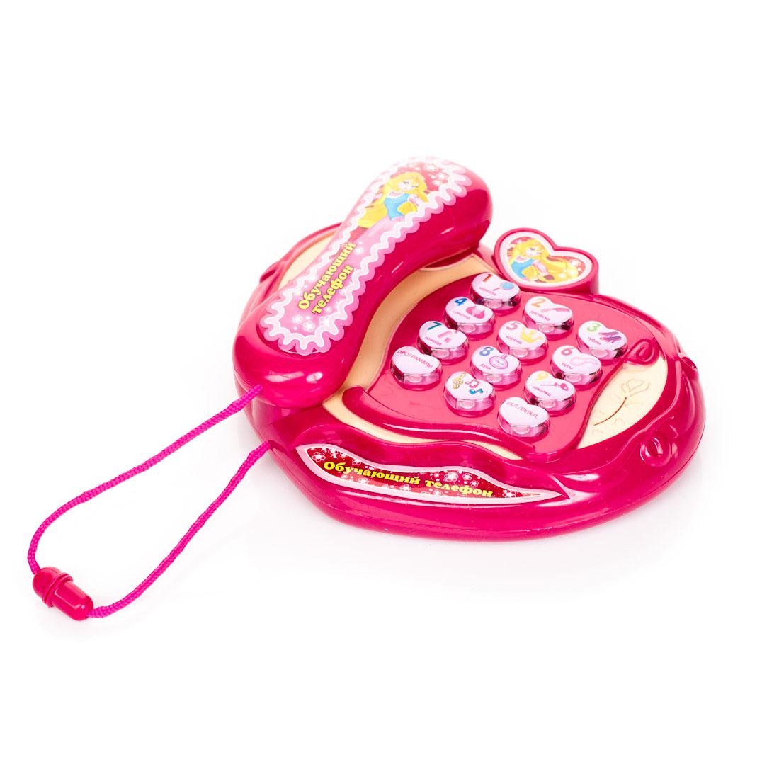Развивающая игрушка Умка Обучающий телефон для девочек<br>