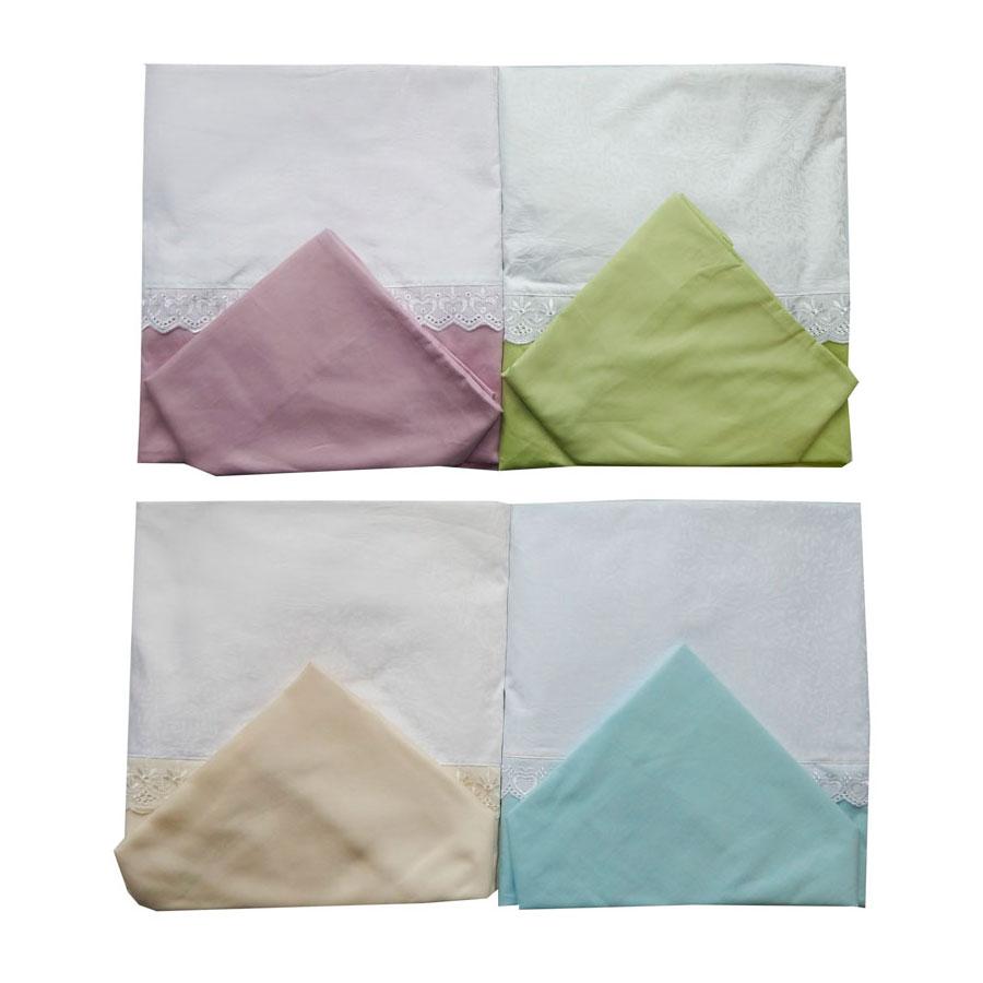 Комплект Постельного белья Папитто 147х112 сатин простыня на резинке<br>