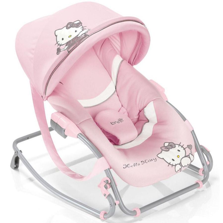 Кресло-качалка Baby Brevi Rocker Hello Kitty модель 558/451<br>