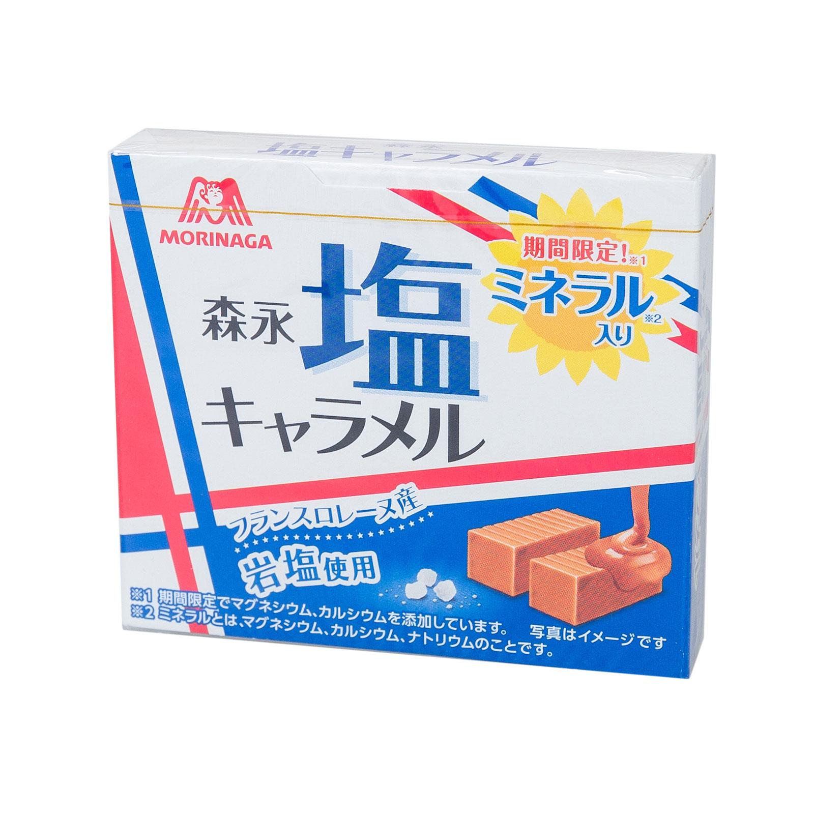 Ириски Morinaga Salt Caramel сливочные (с 3 лет) 72 гр<br>