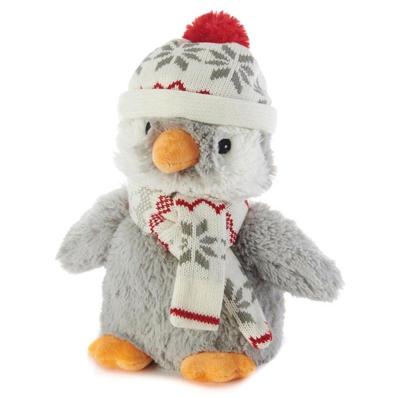 Игрушка-грелка Warmies Пингвин в шапочке<br>