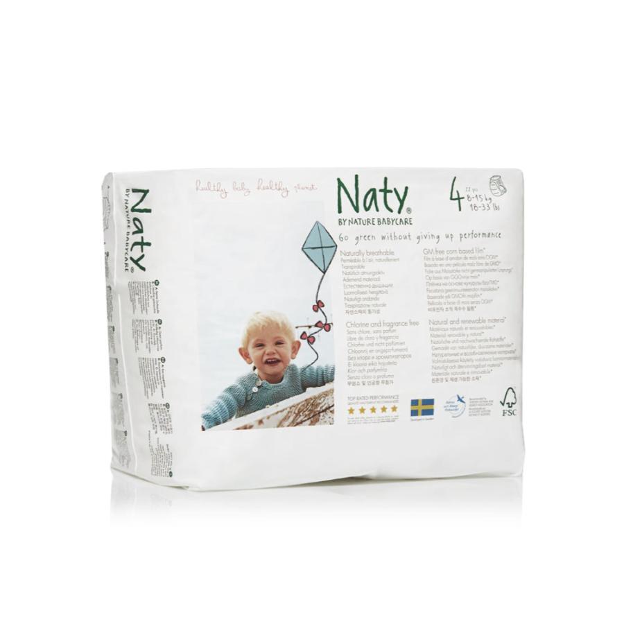 Подгузники-трусики Naty 8-15 кг (22 шт) Размер 4<br>