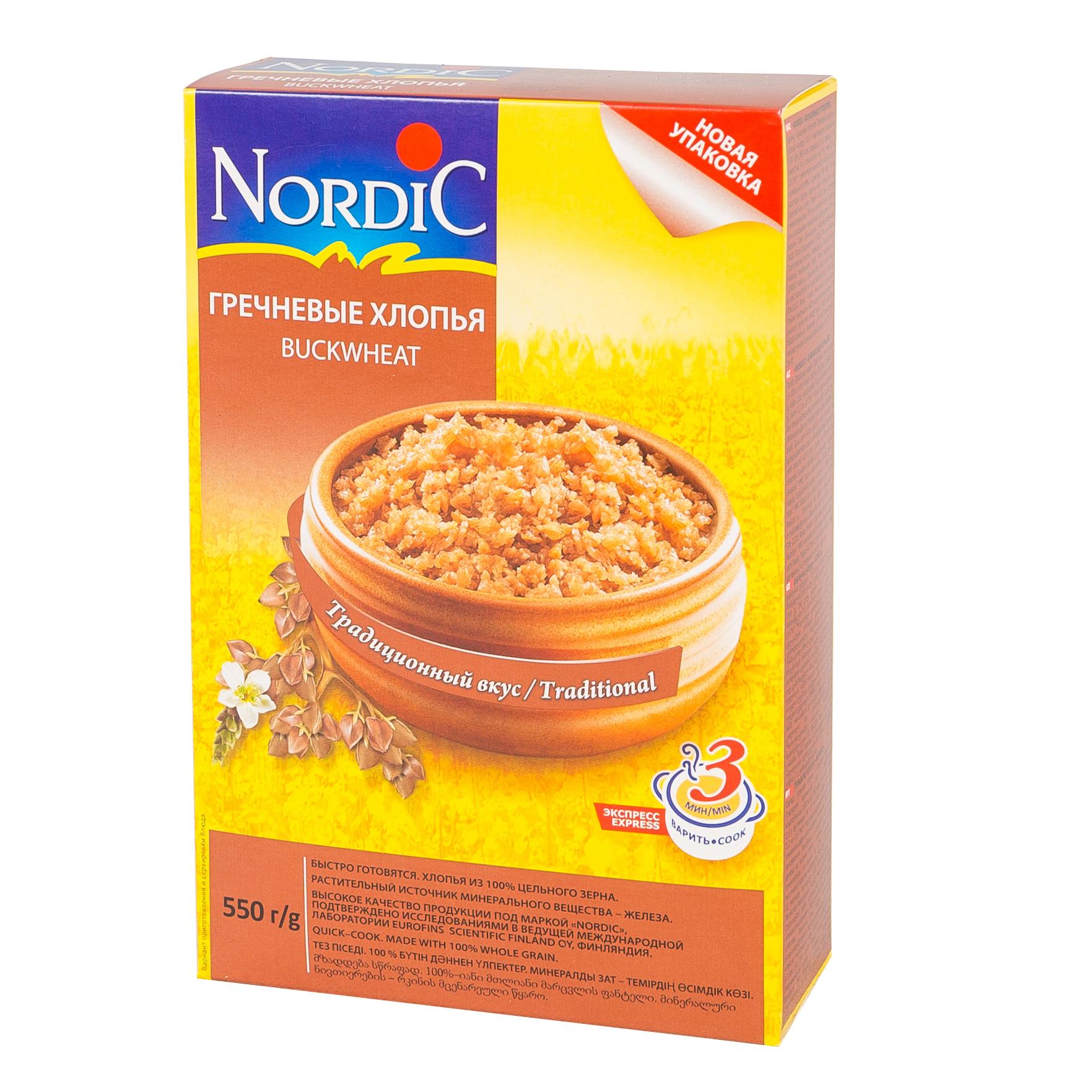 Каша Nordic безмолочная 550 гр Гречневая (с 12 мес)<br>