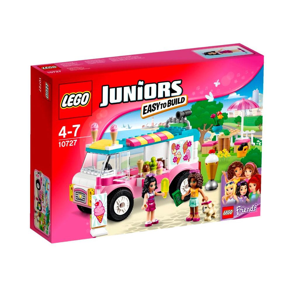 Конструктор LEGO Junior 10727 Грузовик с мороженым Эммы<br>