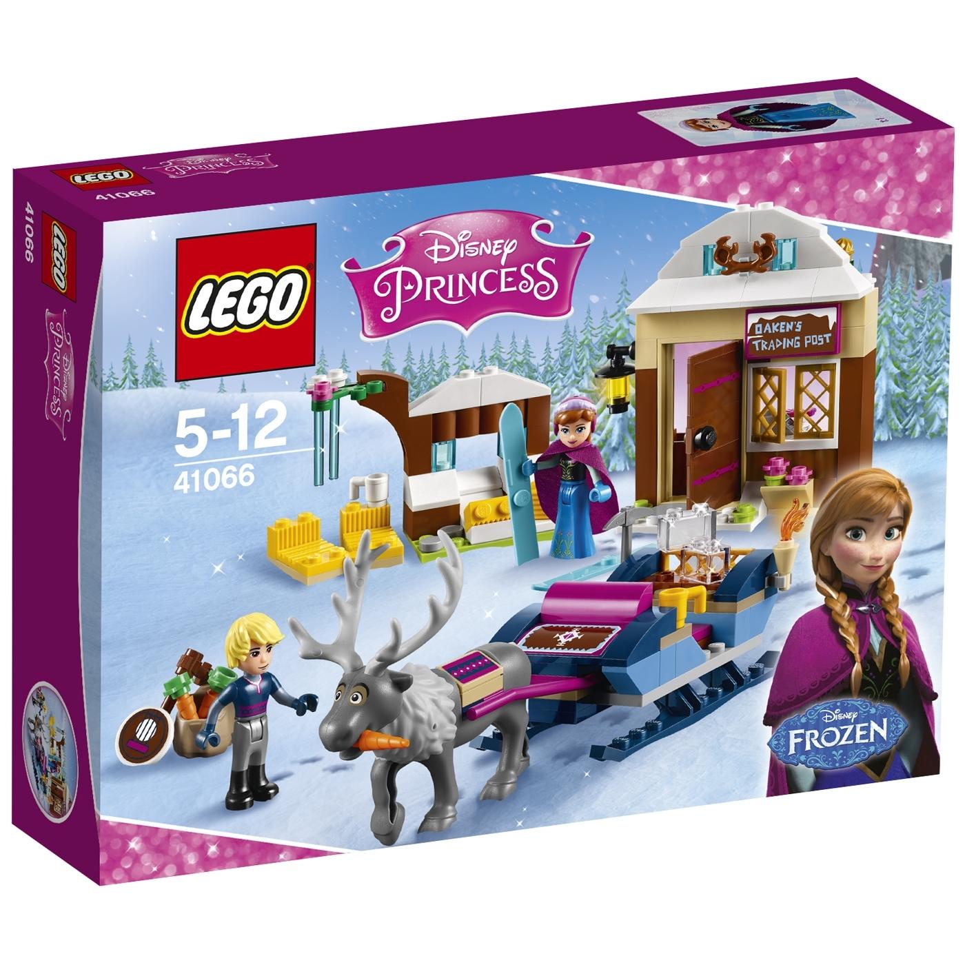 Конструктор LEGO Princess 41066 Дисней Анна и Кристоф Прогулка на санях<br>