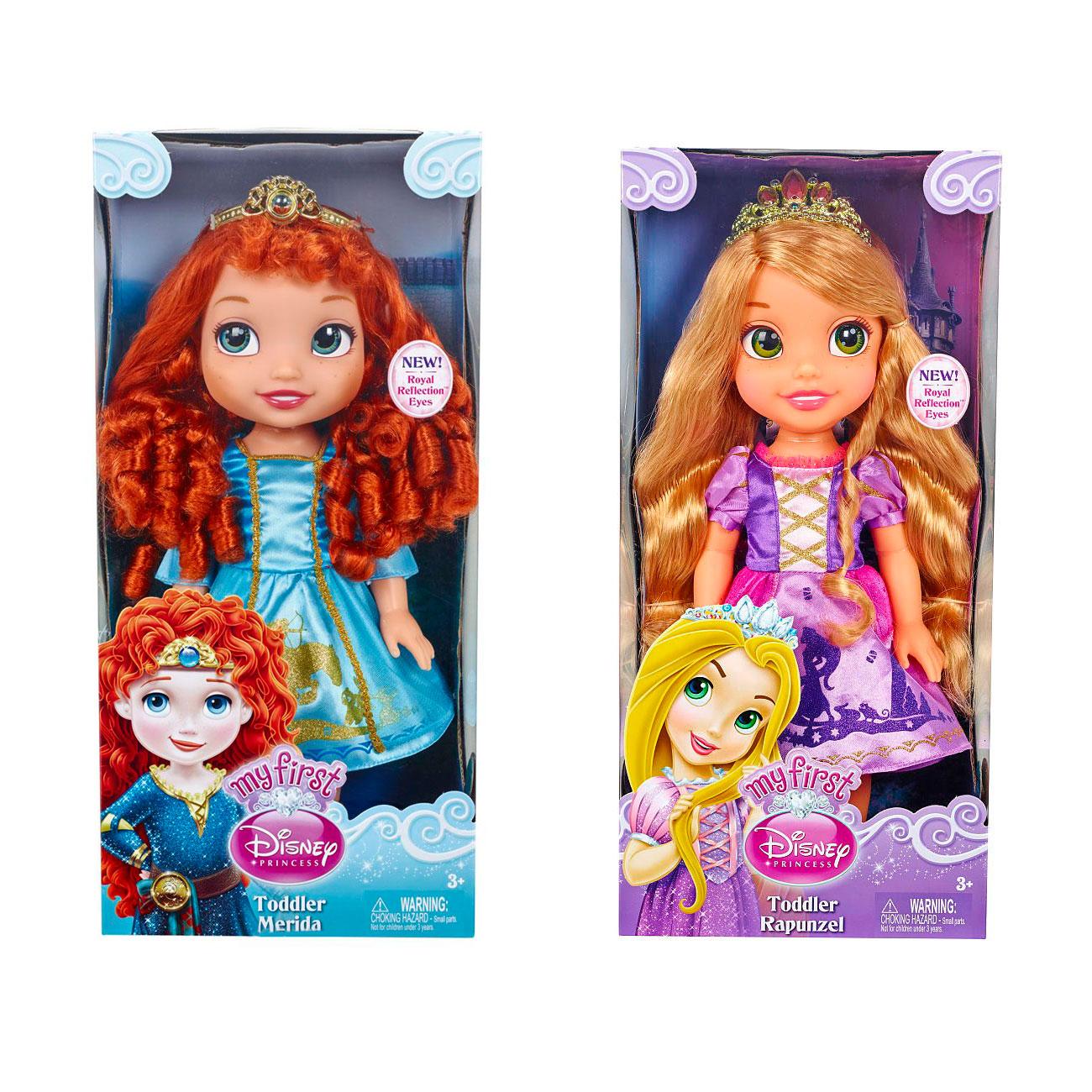 Кукла Disney Princess Малышка Рапунцель/Мерида 35 см<br>