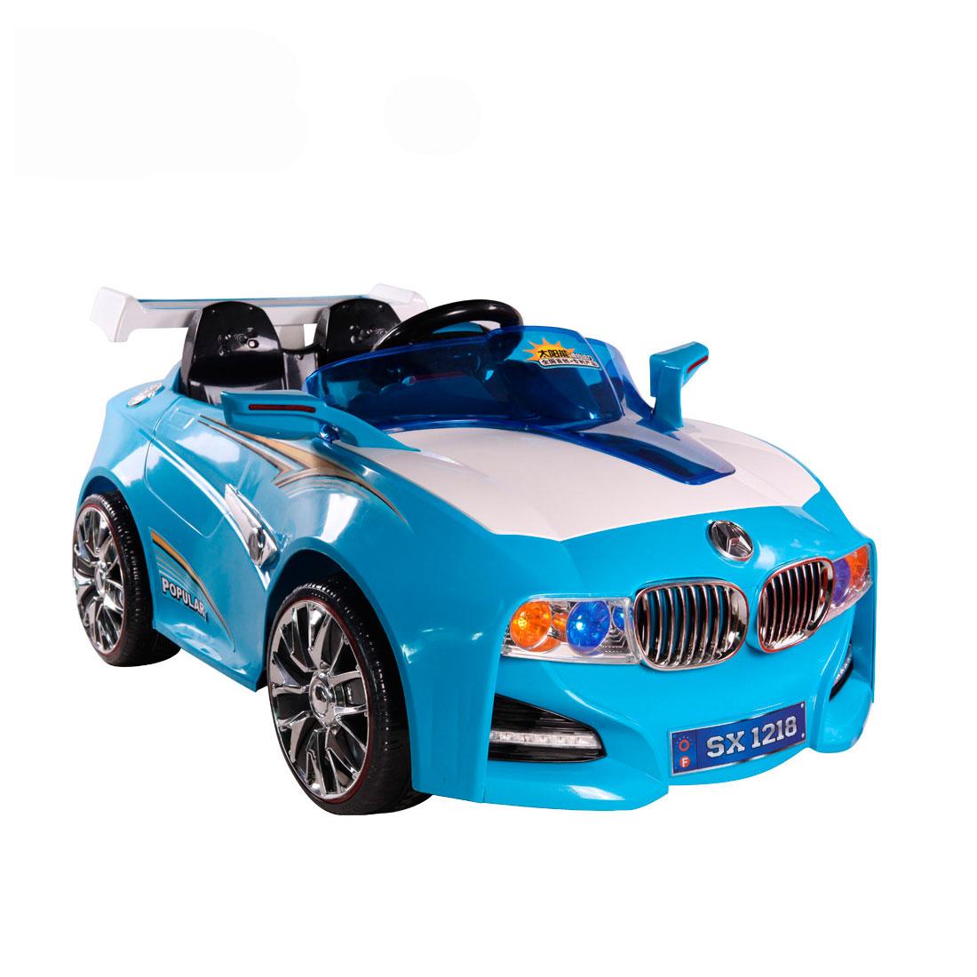 Электромобиль TjaGo BMW-Solar-System Голубой<br>