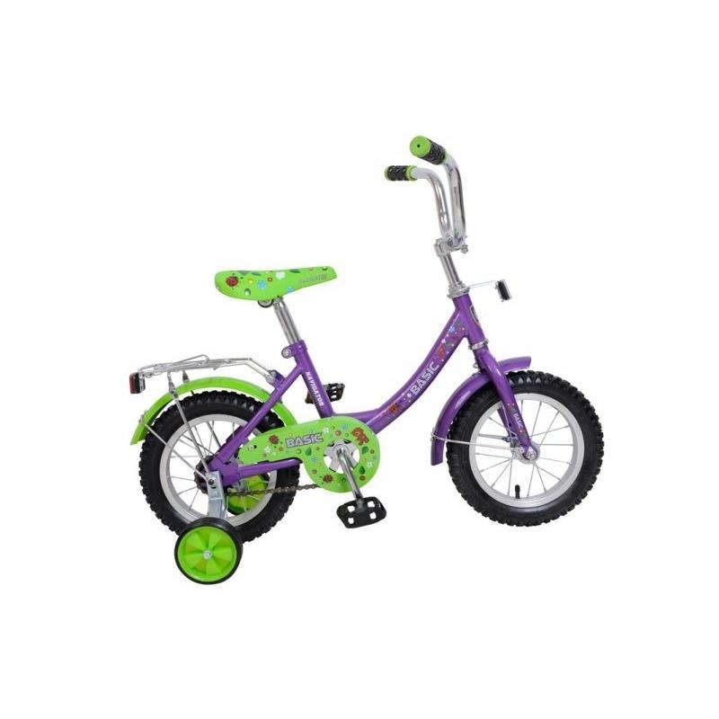 Велосипед Navigator 12 Basic Зеленый с фиолетовым<br>