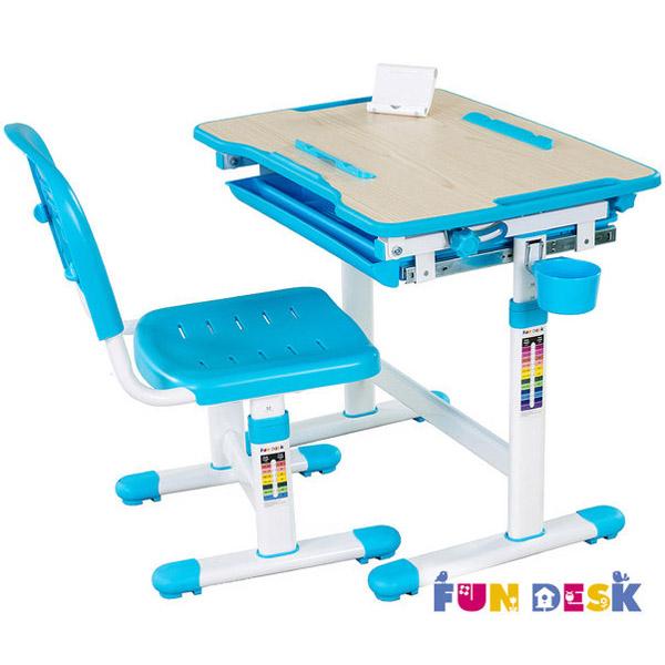 Набор мебели FunDesk Bambino парта и стул Blue<br>