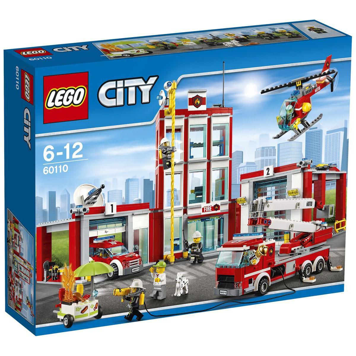Конструктор LEGO City 60110 Пожарная часть<br>