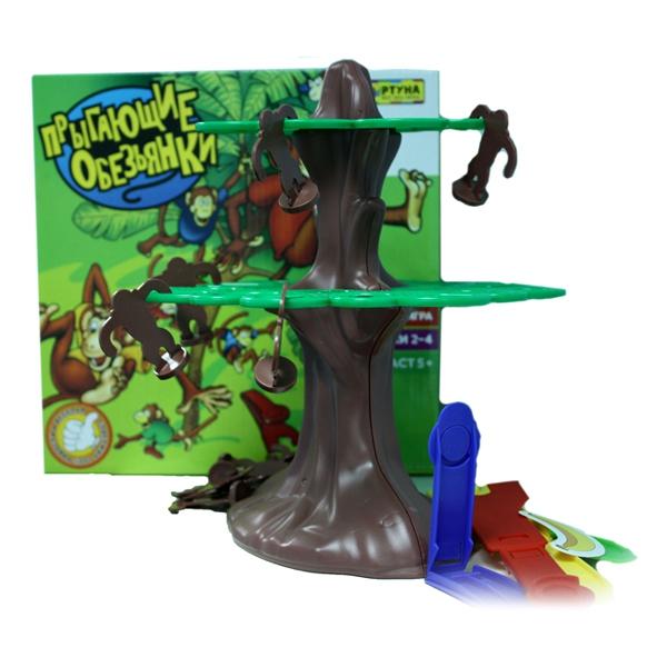 Настольная игра Фортуна Прыгающие обезьянки