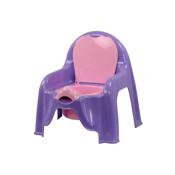 Горшок-стульчик Пластик Цвет - св.фиолетовый 1327М<br>