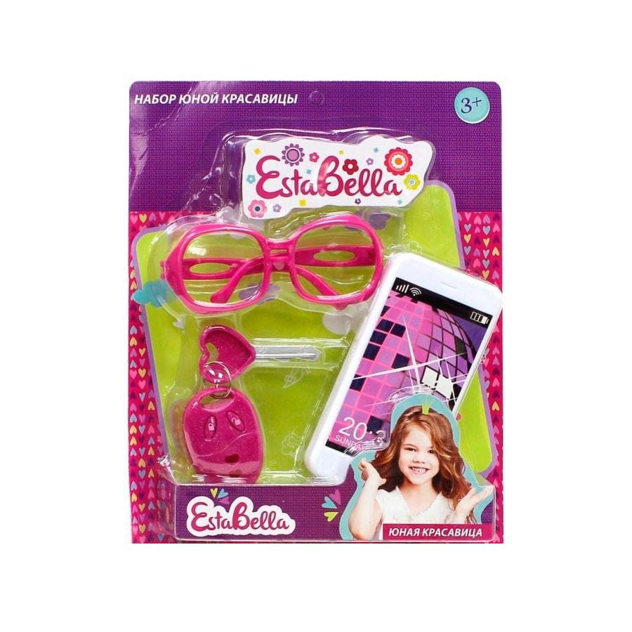 Набор юной красавицы EstaBella Со смартфоном в ассортименте (С аксессуарами, С ключом зажигания)<br>