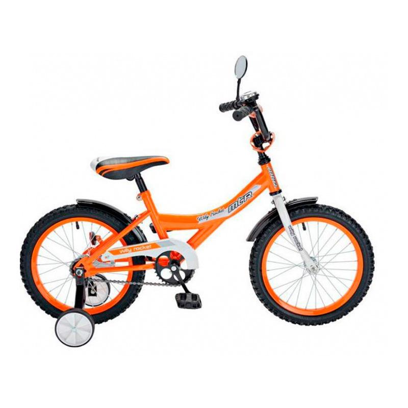 Велосипед двухколесный RT BA Wily Rocket 14 KG1408 Оранжевый<br>