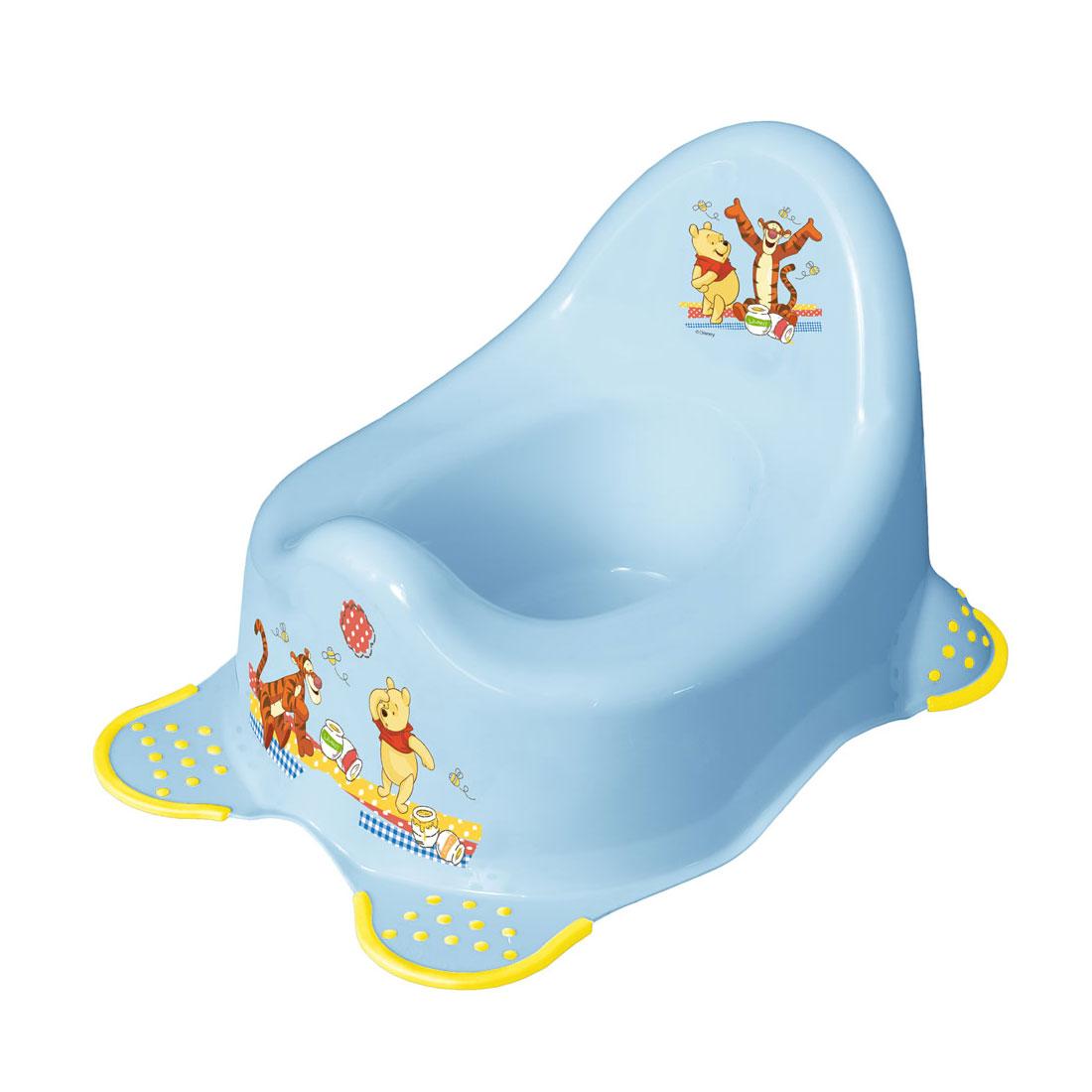 Горшок детский ОКТ Disney Микки голубой (нескользящие ножки)<br>