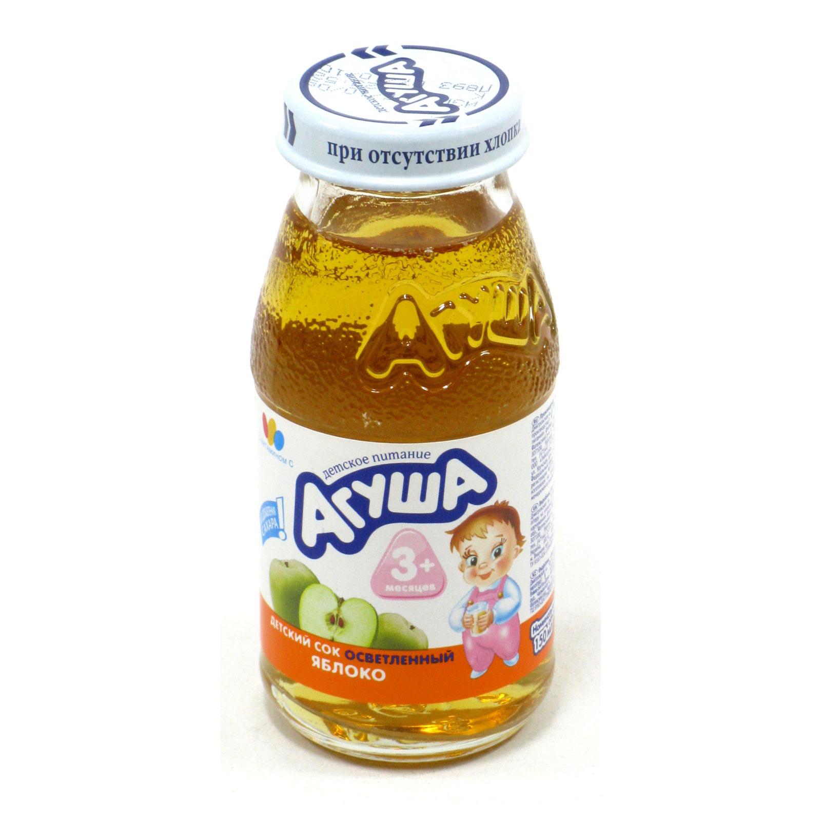 Сок Агуша 150 мл Яблоко (с 3 мес)<br>