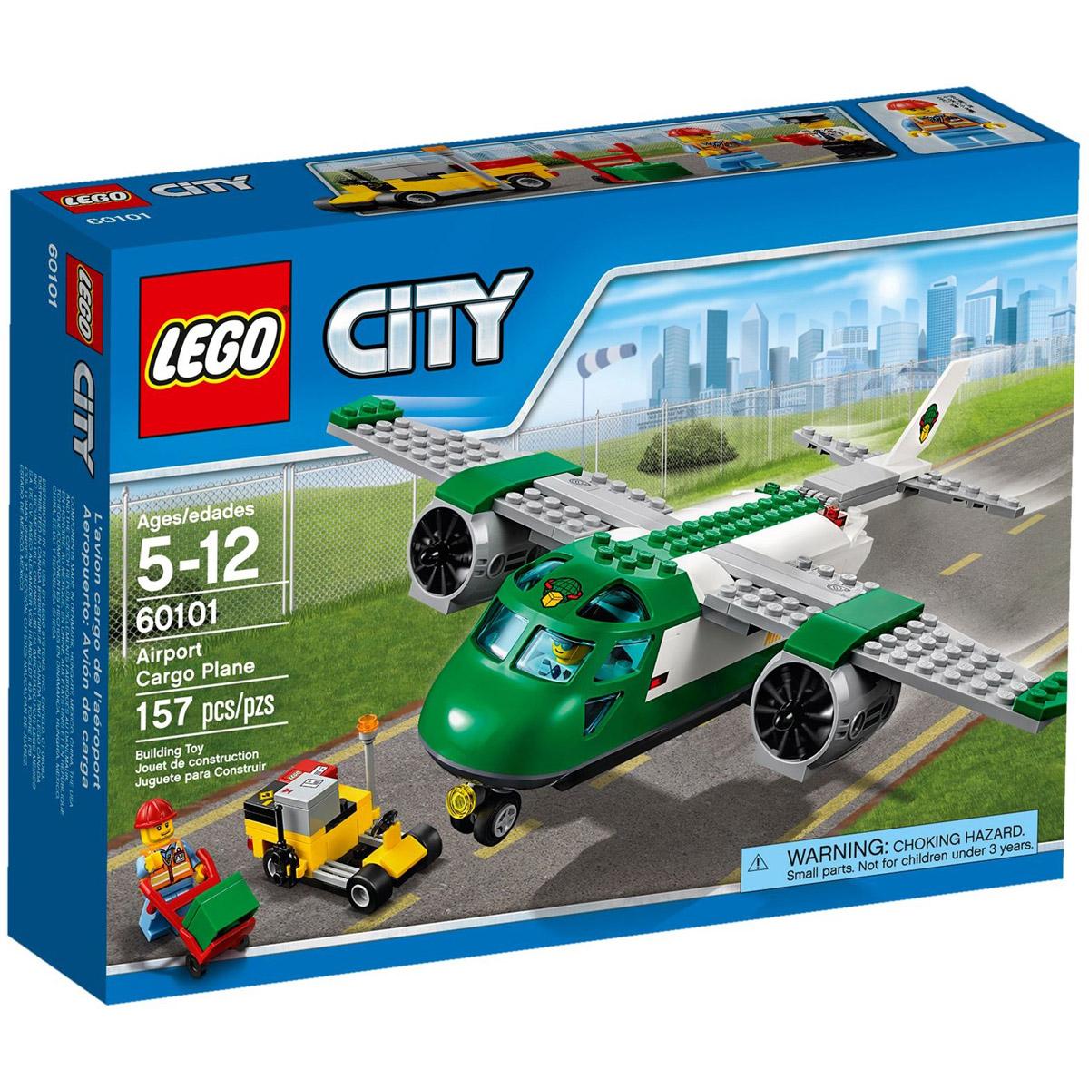 Конструктор LEGO City 60101 Грузовой самолёт<br>