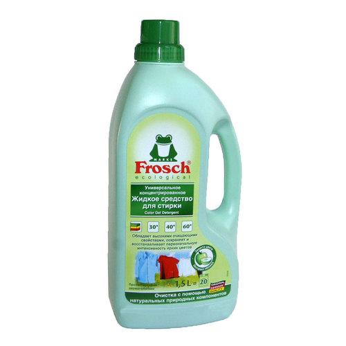 Жидкое средство Frosch для стирки 1,5 л. универсальное, концентрированное<br>