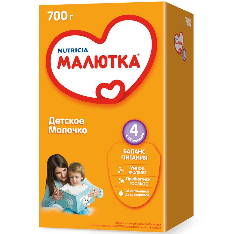 Заменитель Малютка 700 гр №4 (с 18 мес)<br>
