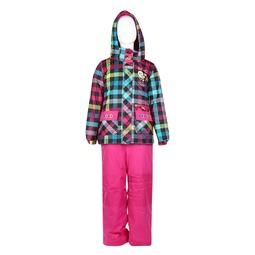 Комплект для девочки Peluche&Tartine куртка + полукомбинезон, цвет rose Размер 92