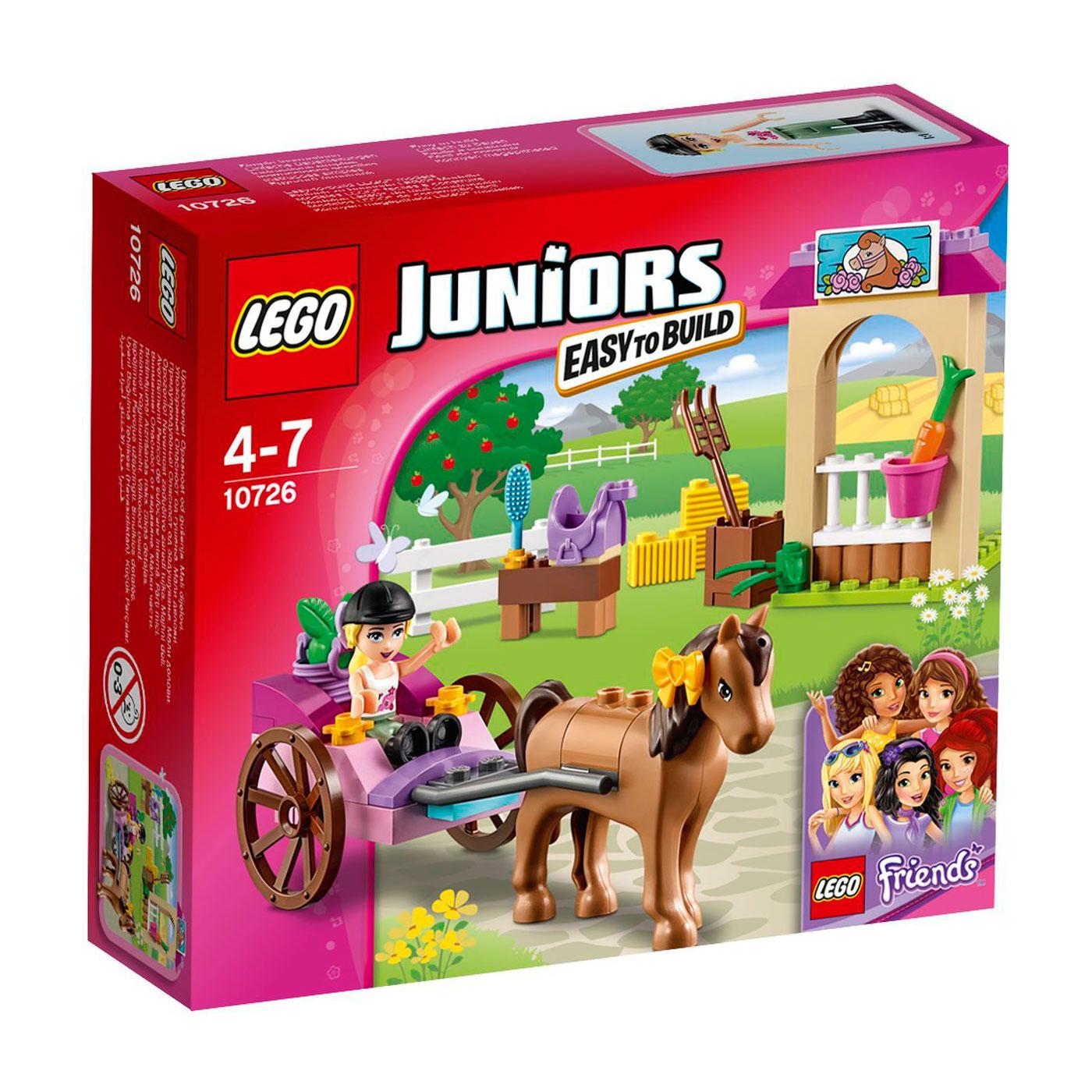 Конструктор LEGO Junior 10726 Карета Стефани<br>