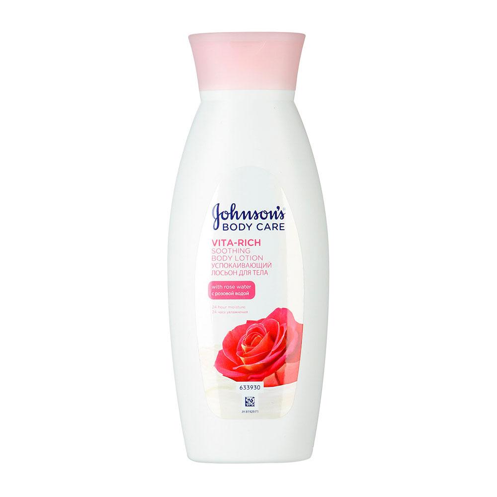 Лосьон для тела Johnson's Body Care Vita-Rich с розовой водой (успокаивающий) 250 мл