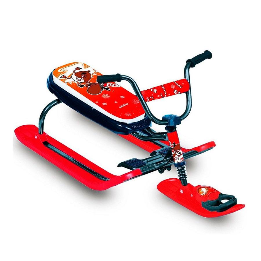 Снегокат RT Penguin Sport моторуль Красный<br>