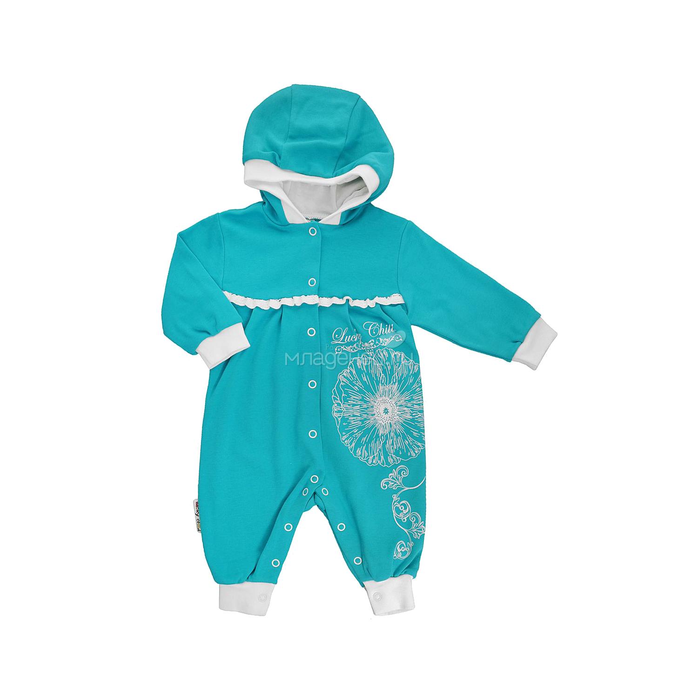 Комбинезон Lucky Child коллекция Ретро с капюшоном Размер 80<br>