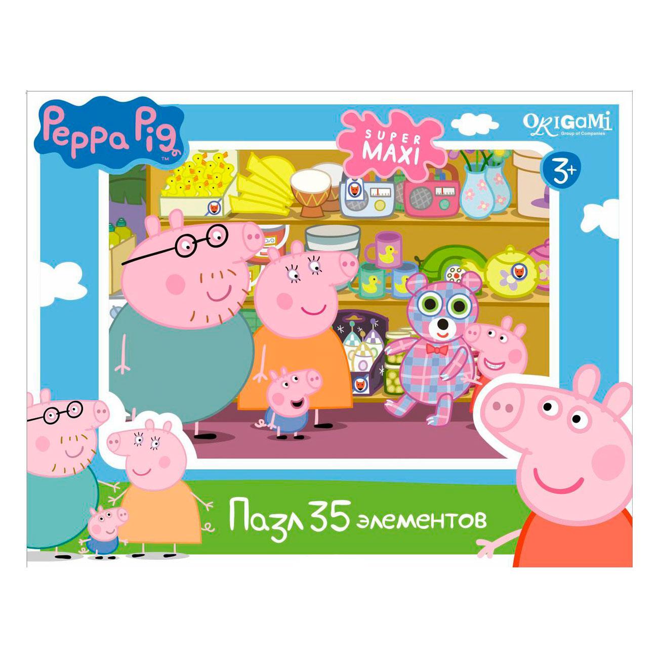 Пазл Origami Peppa Pig Магазин игрушек<br>
