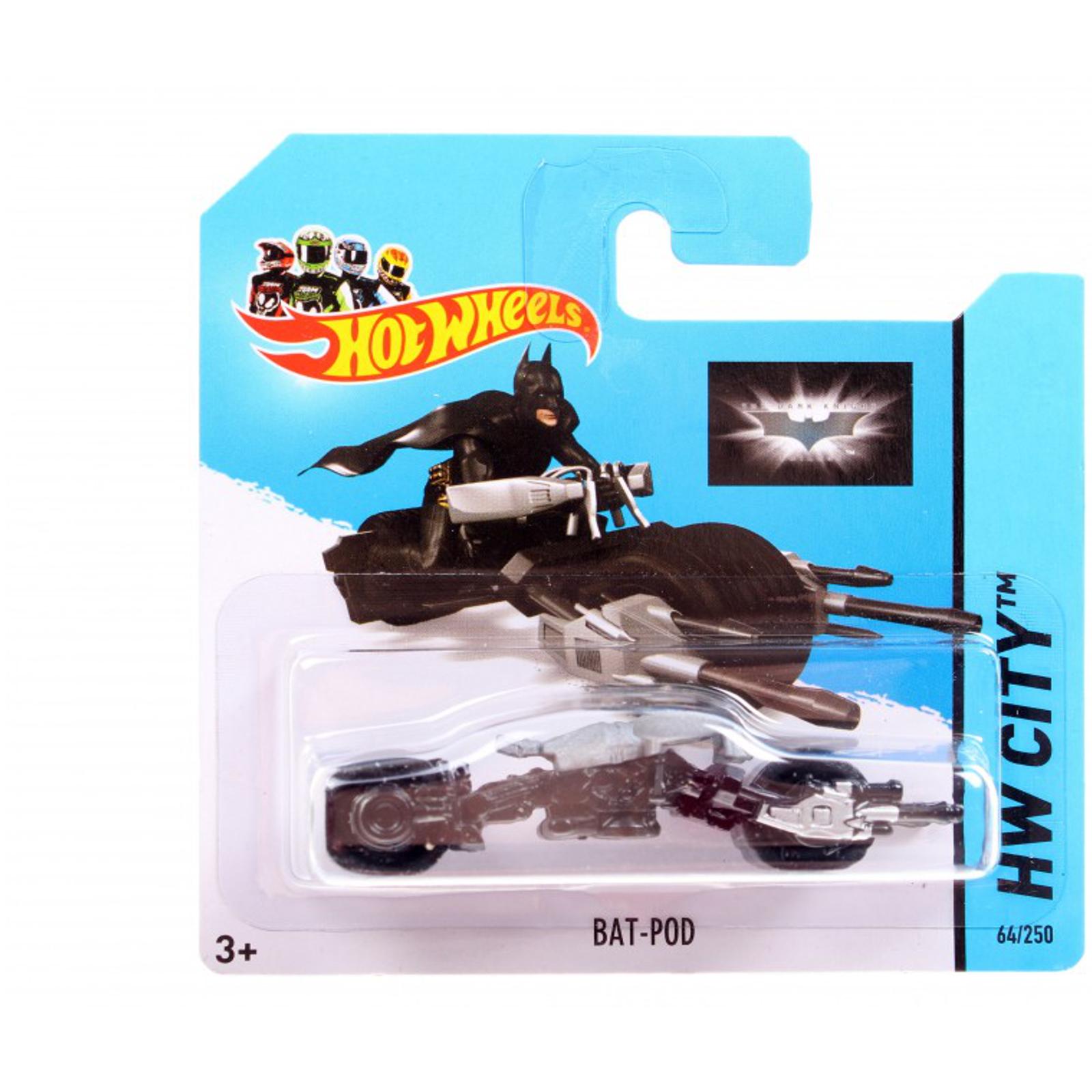 ����������� Hot Wheels ��� ������ Bat-Pod