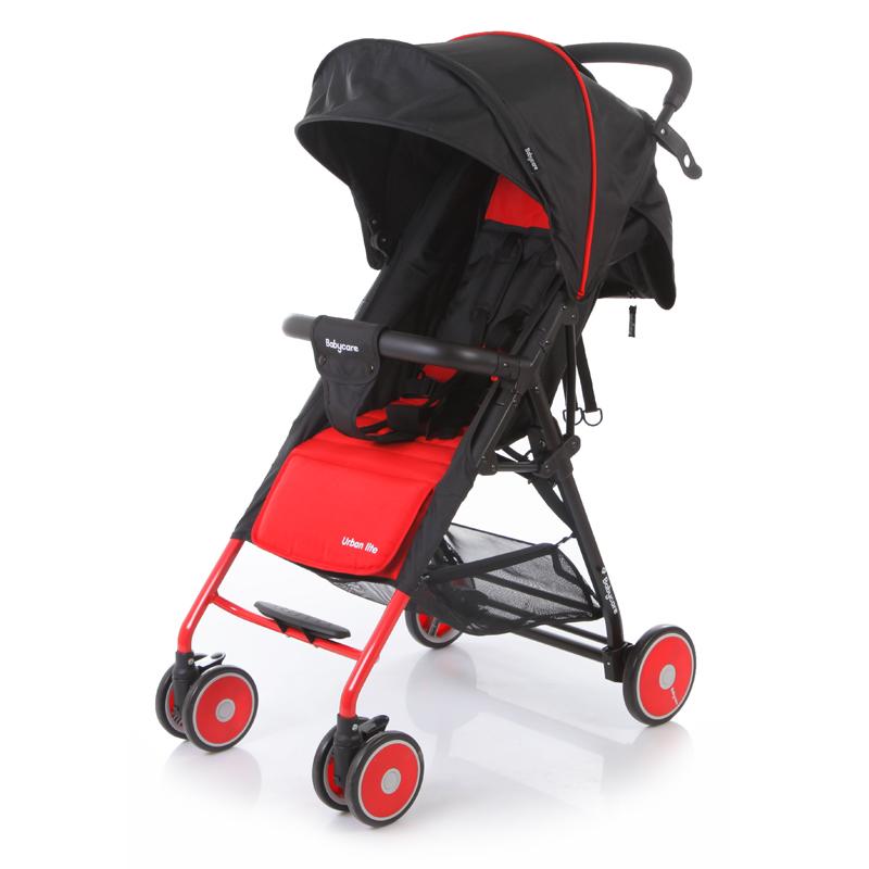 Коляска прогулочная Baby Care Urban Lite Red<br>