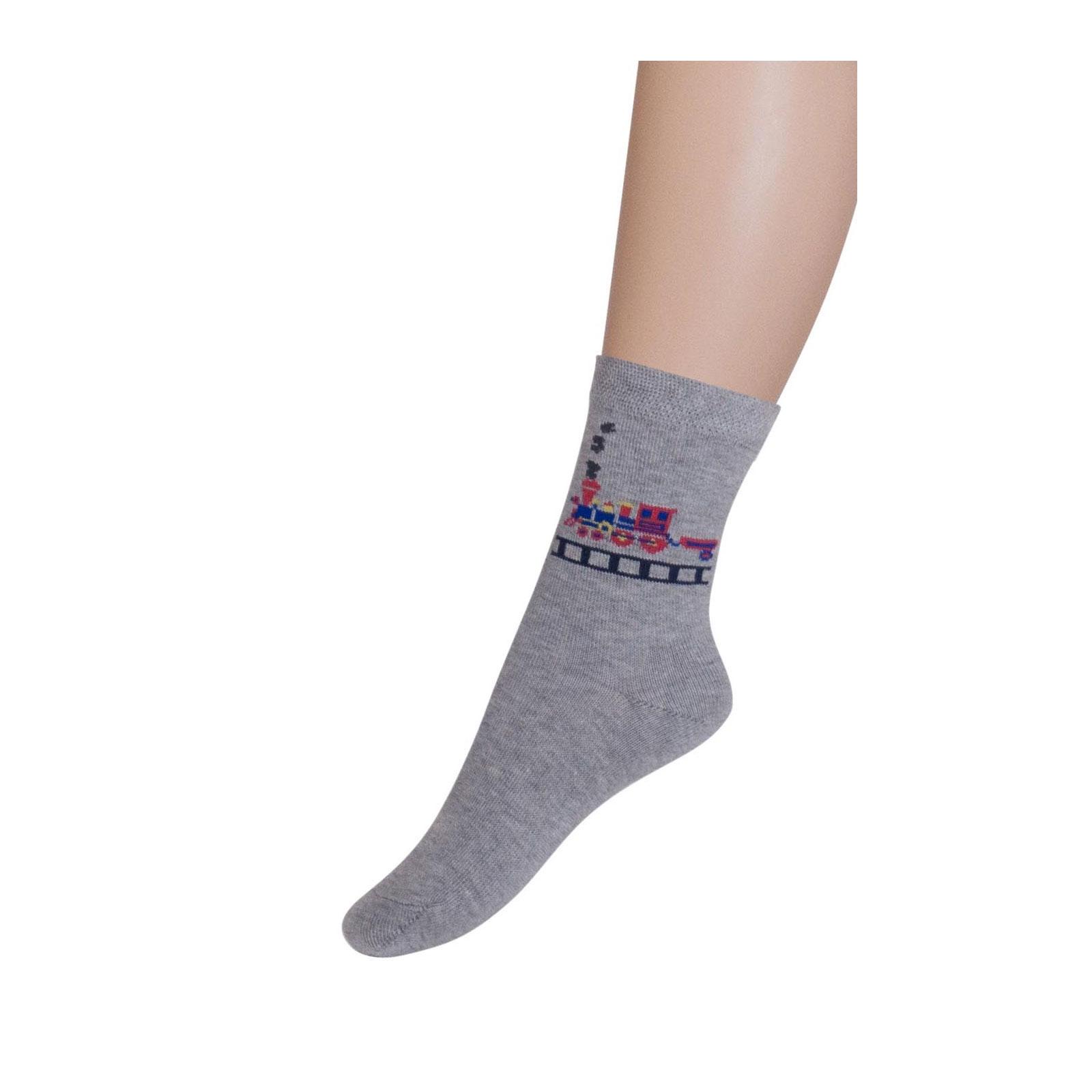 Носки Para Socks N1D11 р 10 светло серый меланж<br>