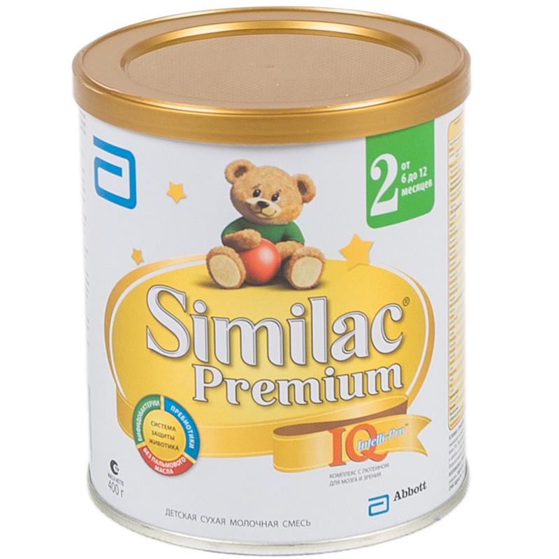 Заменитель Similac Премиум 400 гр №2 (с 6 до 12 мес)<br>