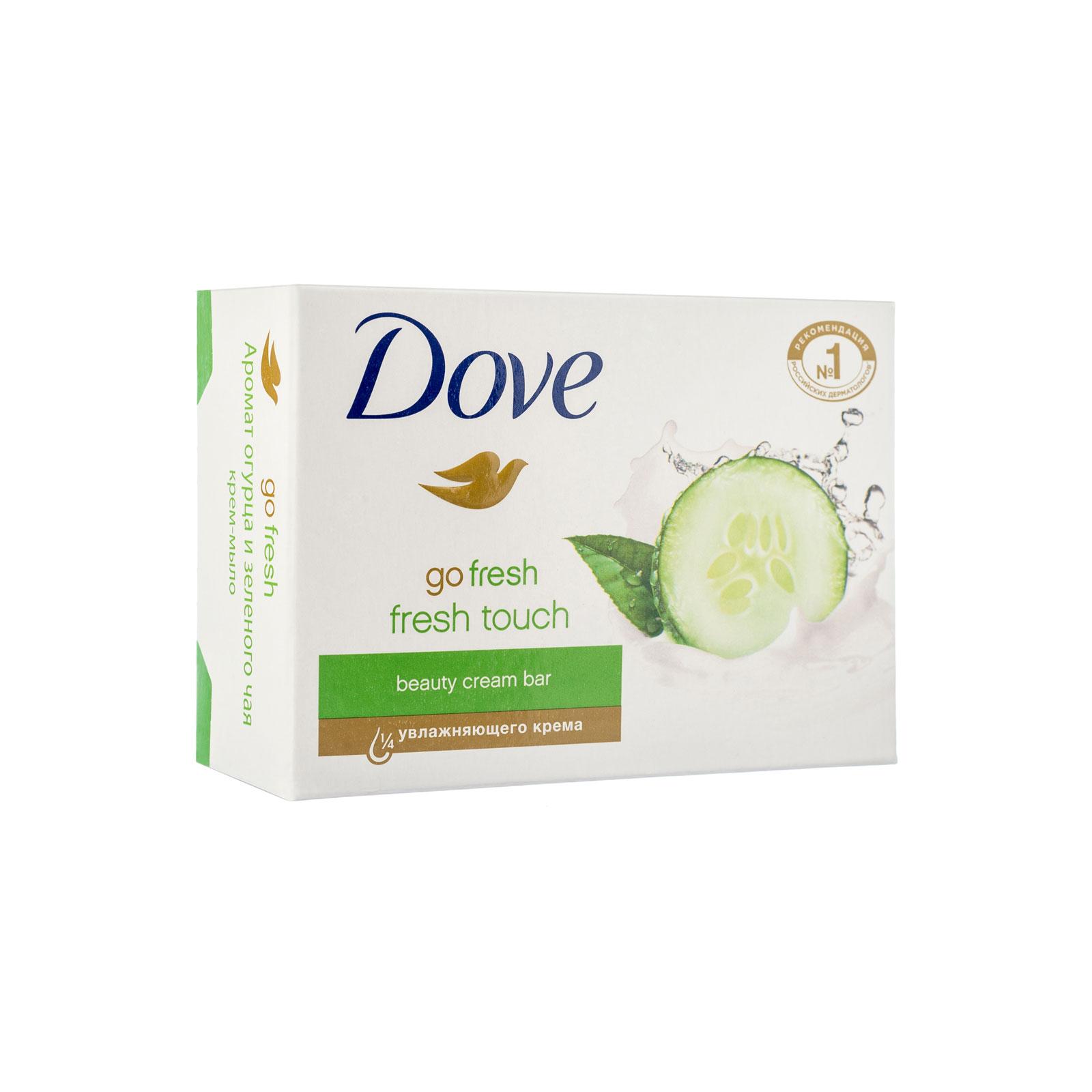 Крем-мыло Dove прикосновение свежести 135 гр<br>