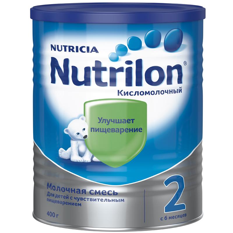 Заменитель Nutricia Nutrilon Кисломолочный 400 гр №2 (с 6 мес) (Nutrilon (Nutricia))