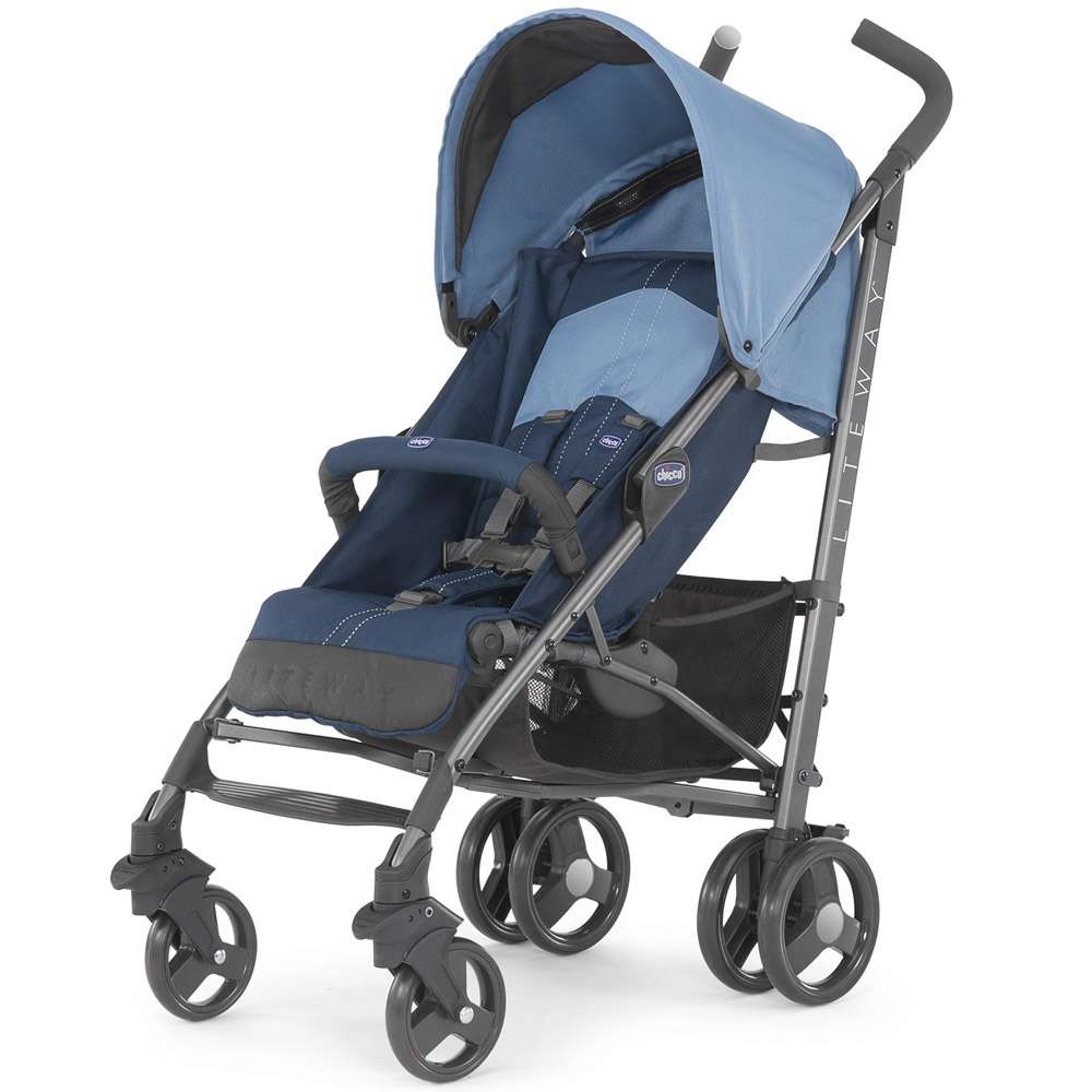 Коляска Chicco Lite Way 2 Top BB Blue<br>