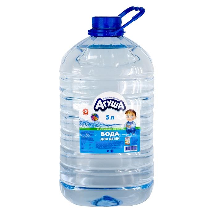 Вода детская Агуша 5 л<br>