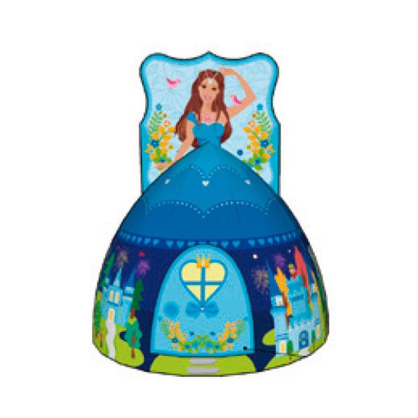 Игровой Дом Calida Принцесса синяя + 100 шаров<br>