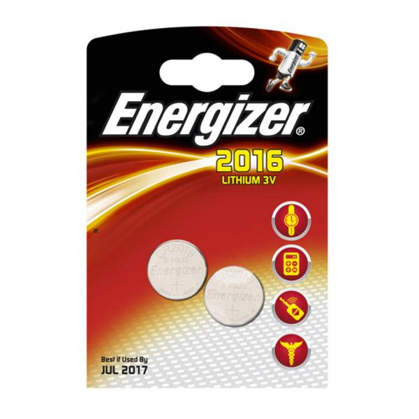 Батарейка Energizer 2016<br>
