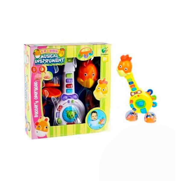 Развивающая игрушка Felice Петушок Музыкальная со световыми эффектами<br>