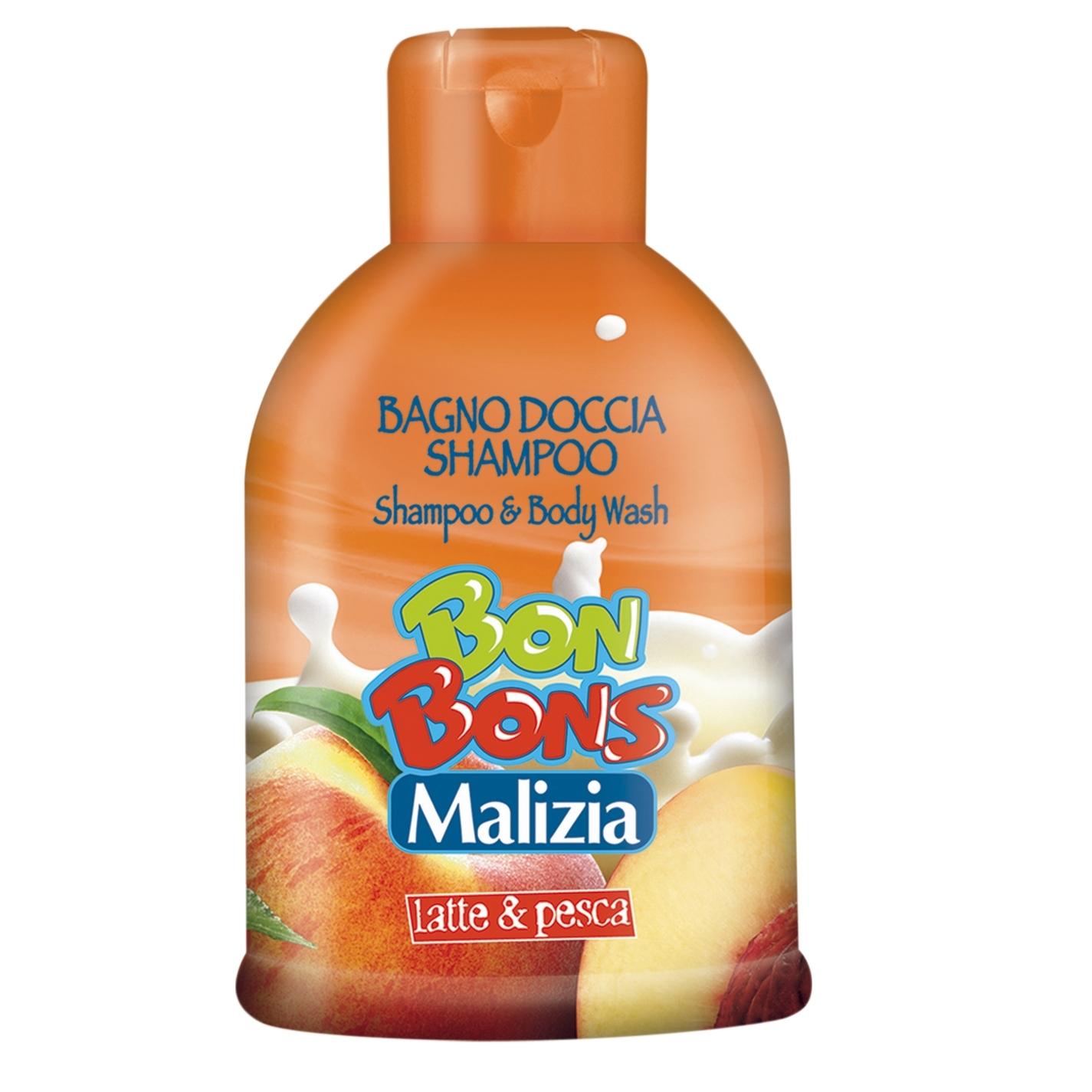 �������-���� Malizia Bon Bons ��� ���� Milk & Peach 500 ��