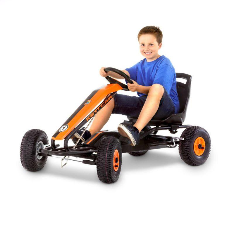 Педальная машина Kettler Кетткар Dakar Air Оранжевая<br>