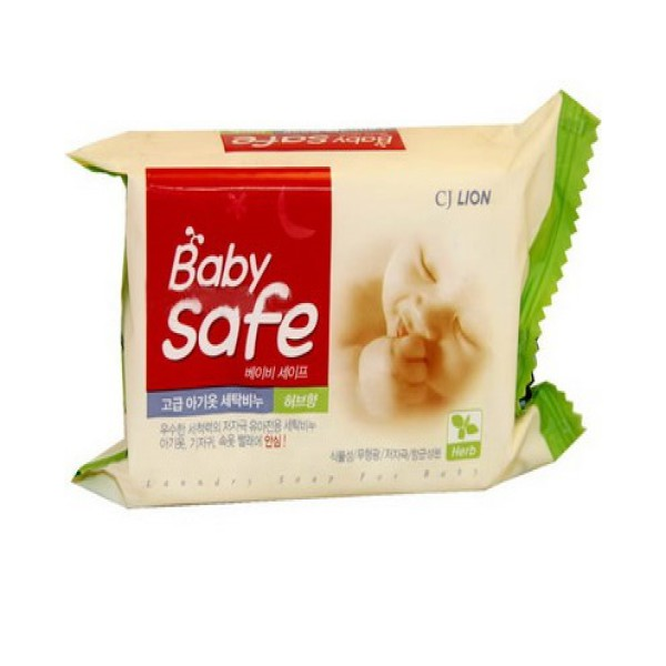 Мыло для стирки CJ Lion Baby safe с ароматом трав 190 гр<br>