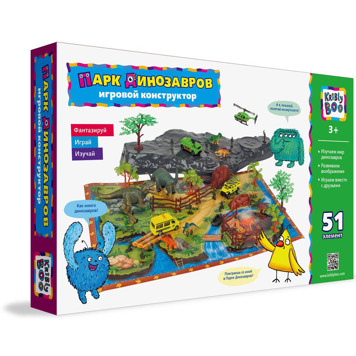 Игровой конструктор Kribly Boo Парк динозавров<br>
