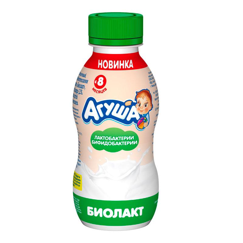 Напиток кисломолочный Агуша Биолакт с 8 мес<br>