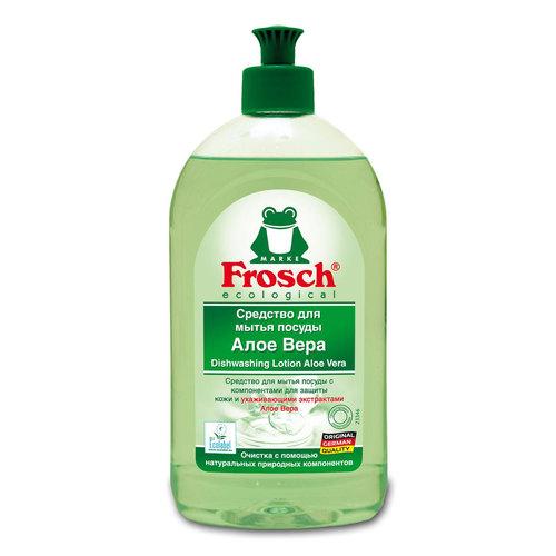 Средство Frosch для мытья посуды 0,5 л Алое Вера<br>